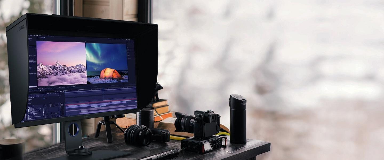 Монитор BenQ PhotoVue SW271C для фотографа